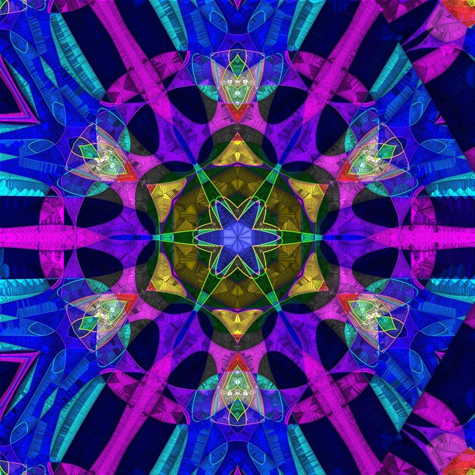 Mandala by Amecylia