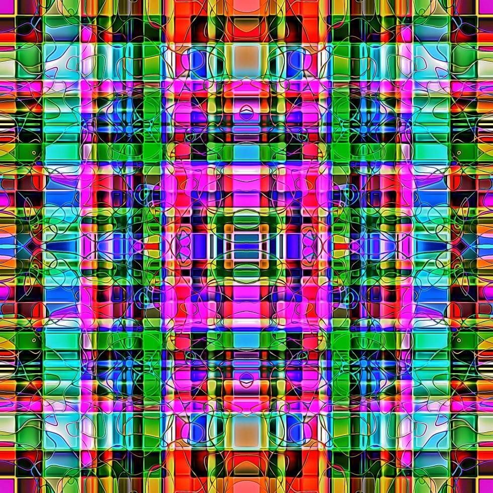Geometric pattern from AMECYLIA